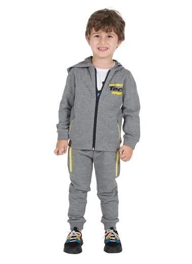 Silversun Kids Erkek Çocuk Beli Ve Paçaları Lastikli Cepli Sweat Pantolon Jp 215692 Antrasit